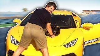 Download Driving 450 mph in a Lamborghini Video