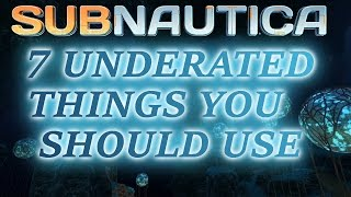 Download SUBNAUTICA TIPS N TRICKS | 7 USEFUL ITEMS YOU PROBABLY DON'T USE Video