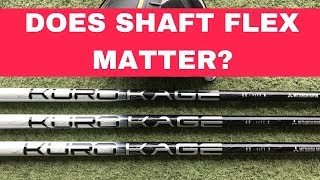 Download DRIVER SHAFT FLEX TEST - DOES FLEX MATTER? REGULAR v STIFF v EXTRA STIFF Video