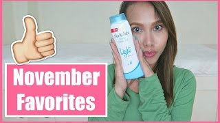 Download NOVEMBER FAVORITES (Philippines) | rhaze Video