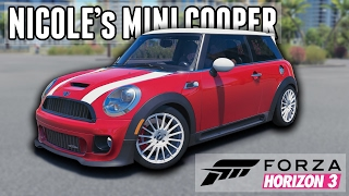 Download Nicole LZ's F56 Mini Cooper S || Youtuber Car Builds: Forza Horizon 3 Video