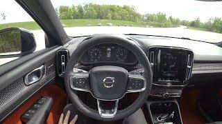 Download 2019 Volvo XC40 T5 AWD R-Design - POV First Impressions (Binaural Audio) Video