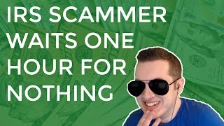 Download IRS Scammer Waits 1 Hour For Nothing & Gets Mad Video
