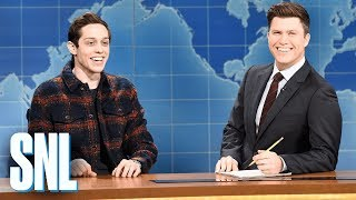 Download Weekend Update: Pete Davidson on Filming a Commercial - SNL Video