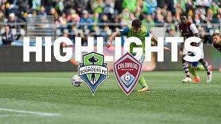 Download Highlights: Seattle Sounders FC vs Colorado Rapids | October 22, 2017 Video