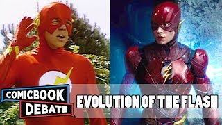 Download Evolution of the Flash in Movies & TV in 9 Minutes (2017) Video