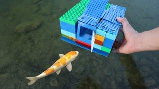 Download LEGO FISH-TRAP Catches RARE ORANGE Fish! Video