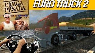 Download EURO TRUCK SIMULATOR 2 - CARGA PESADA, JOGANDO COM O LOGITECH G27!!! Video