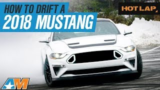 Download Chelsea DeNofa Shows Stephanie How To Drift A 2018 Ford Mustang RTR - Hot Lap Video