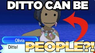 Download DITTO TRANSFORM INTO PEOPLE in Pokemon Ultra Sun and Moon! | Austin John Plays Video