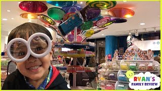 Download Kid in a candy store Dylan's Candy + Family Fun Trip Hotel Tour with Ryan's Family Review Video