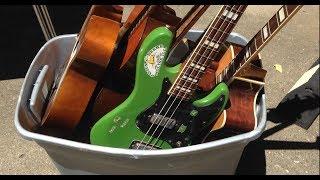 Download Crazy Guitar Hoarder YARD SALE! Video