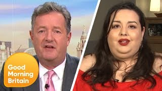 Download Piers Clashes With Model Angelina Duplisea on Whether Obesity Is Glorified | Good Morning Britain Video