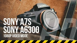 Download Sony A7s vs A6300 quality test in HD 1080p recording Video