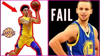 Download Why Lonzo Ball just proved he DOESN'T BELONG IN THE NBA!! Steph Curry ROASTS Lonzo! Video