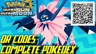 Download Pokémon Ultra Sun and Ultra Moon - Complete Pokédex (ALL QR Codes & Shinies) Video