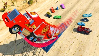 Download Cars Mack Truck Lightning McQueen and Friends Videos for Kids Songs for Children Video