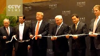 Download Conflict of interest: Trump's business empire sparks ethics debate Video