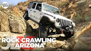 Download JLX : REUNION - 1st Annual Jeep JL Wrangler Nitto JL-Experience | PART 2 - Rock Crawling in Arizona Video