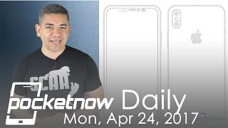 Download iPhone 8 full design leaked, Spotify hardware & more - Pocketnow Daily Video