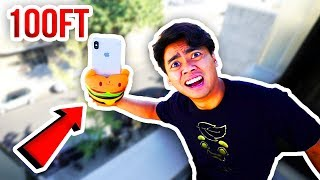 Download Can SQUISHY TOYS Protect iPHONE X From 100 FT DROP! Video