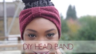 Download DIY Head Band Using An Old Sock! Video