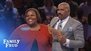 Download SHIRLEY is THE QUEEN of Fast Money!!! | Family Feud Video
