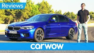Download New BMW M5 2018 review - find out if it's quicker than a Mercedes-AMG E63 S Video
