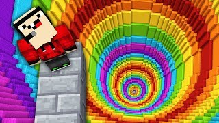 Download IMPOSSIBLE MINECRAFT RAINBOW DROPPER! Video