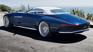 Download 2018 Vision Mercedes-Maybach 6 Cabriolet - interior Exterior and Drive Video