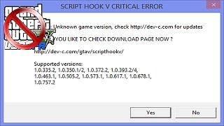 Script Hook V + Native Trainer *GTA V PC Version* Update 5 3DM Free