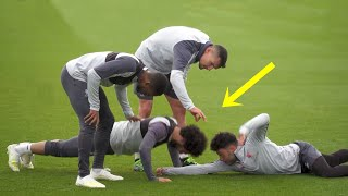 Download Funny Moments in Training ● Salah, Mbappe, Ronaldo Video