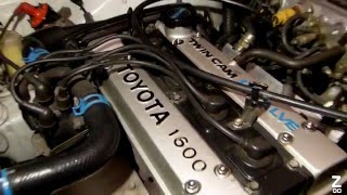 Download Toyota Corolla 85's AE82 GT Twin cam 4a-ge ″wakeup″ Video