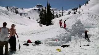 Download Mt Baker Sesh Up Step-Up Jump 2011 Video