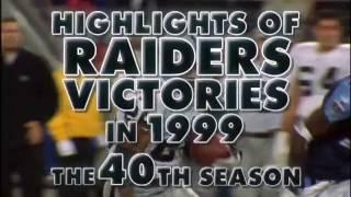 Download 1999 Oakland Raiders Video