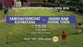 Download SANCHAI/SONGCHAT RATIWATANA VS HOÀNG NAM/HOÀNG THIÊN - VIETNAM OPEN 2016 | FULL Video