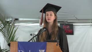 Download Graduation 2017-Class Speaker Laura Marie Davis Video