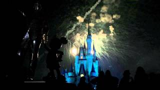 Download Wishes Fireworks Spectacular finale with Castle Dreamlights Video