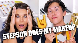Download STEPSON DOES MY MAKEUP Video