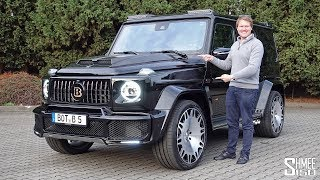 Download The Brabus 700 G63 Widestar is a Mercedes-AMG G Wagon on STEROIDS! Video