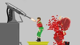 Download BLOODY AUTOMATIC CHAIN GUN! (HAPPY WHEELS #89) Video