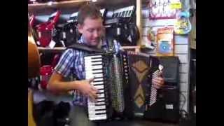 Download Mark plays a 2nd Hand Brandoni 96 Bass Super Musette Midi Accordion @ Hobgoblin Music Birmingham Video