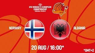 Download LIVE 🔴 - Norway v Albania - FIBA U16 Women's European Championship Division B 2018 Video