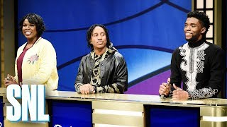 Download Black Jeopardy with Chadwick Boseman - SNL Video