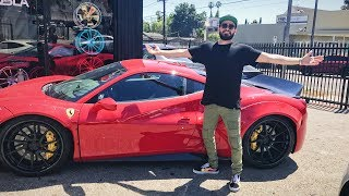 Download Unveiling Gabriel ″Fluffy″ Iglesias' ″NEW″ CAR! Video