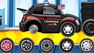 Download CAR WASH POLICE CAR | Builds Car - Car Factory : POLICE CAR | BEST iOS Apps for Children Video