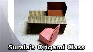 Download Origami - Desk, Chair, Bookshelf / 종이접기 - 책상, 의자, 책꽂이 Video