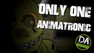Download FIVE NIGHTS AT FREDDY'S 3 ANIMATED (One Animatronic At Freddy's) - DAGames Video