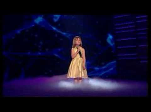 Britain's Got Talent Young Connie Talbot - Somewhere over th