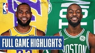 Download LAKERS at CELTICS | FULL GAME HIGHLIGHTS | January 20, 2020 Video